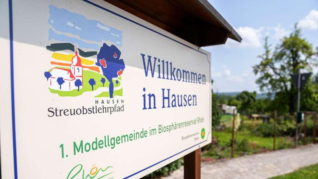 Streuobstwiesen in der bayerischen Rhön