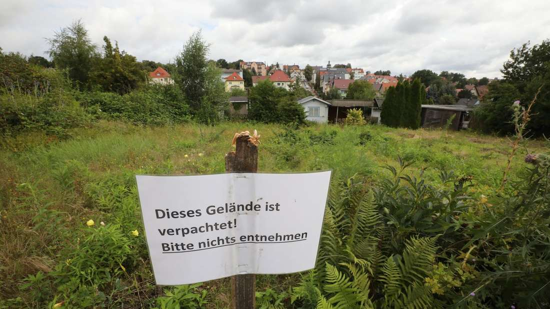 Kleingartenanlage in Thüringen